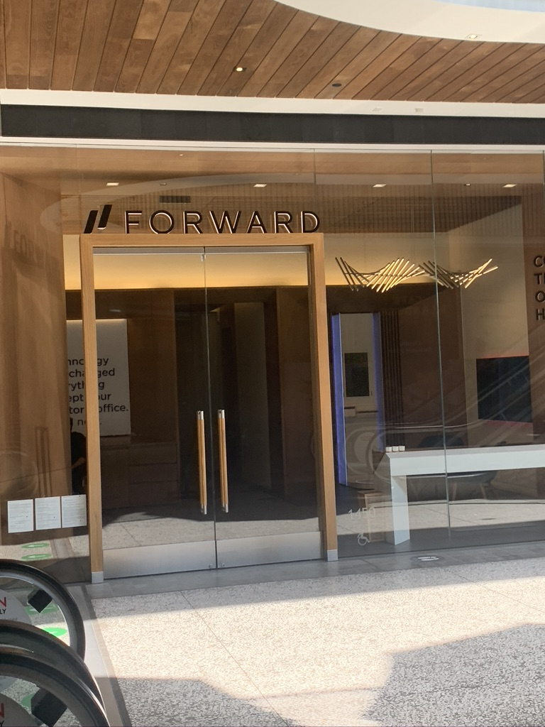 The outside of the Forward doctor's office in Century City